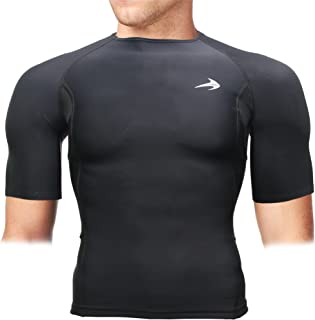 Men's Short Sleeve Compression Shirt - Athletic Base Layer