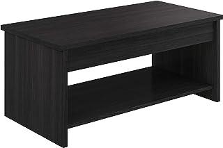 Marca Amazon -Movian Aggol Modern - Mesa de centro elevable con balda inferior 50 x 100 x 44 cm (gris)