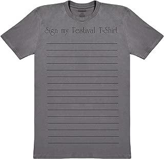Phunky Buddha Sign My Festival T-Shirt Men's Novelty T-Shirt, Mens Gift, Gift for Him, Mens Top