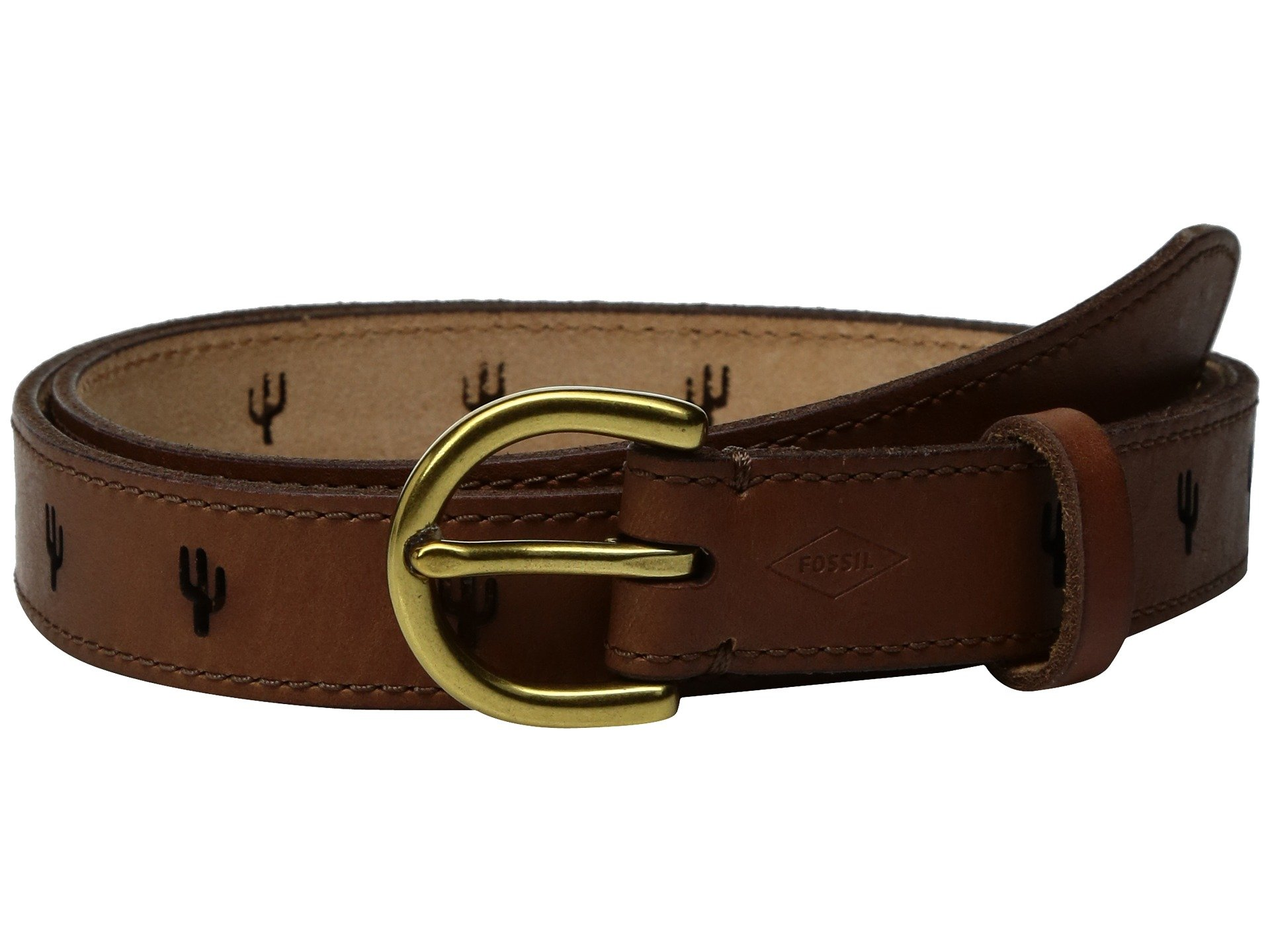 Correa o Cinturon para Mujer Fossil Cactus Perforated Belt  + Fossil en VeoyCompro.net