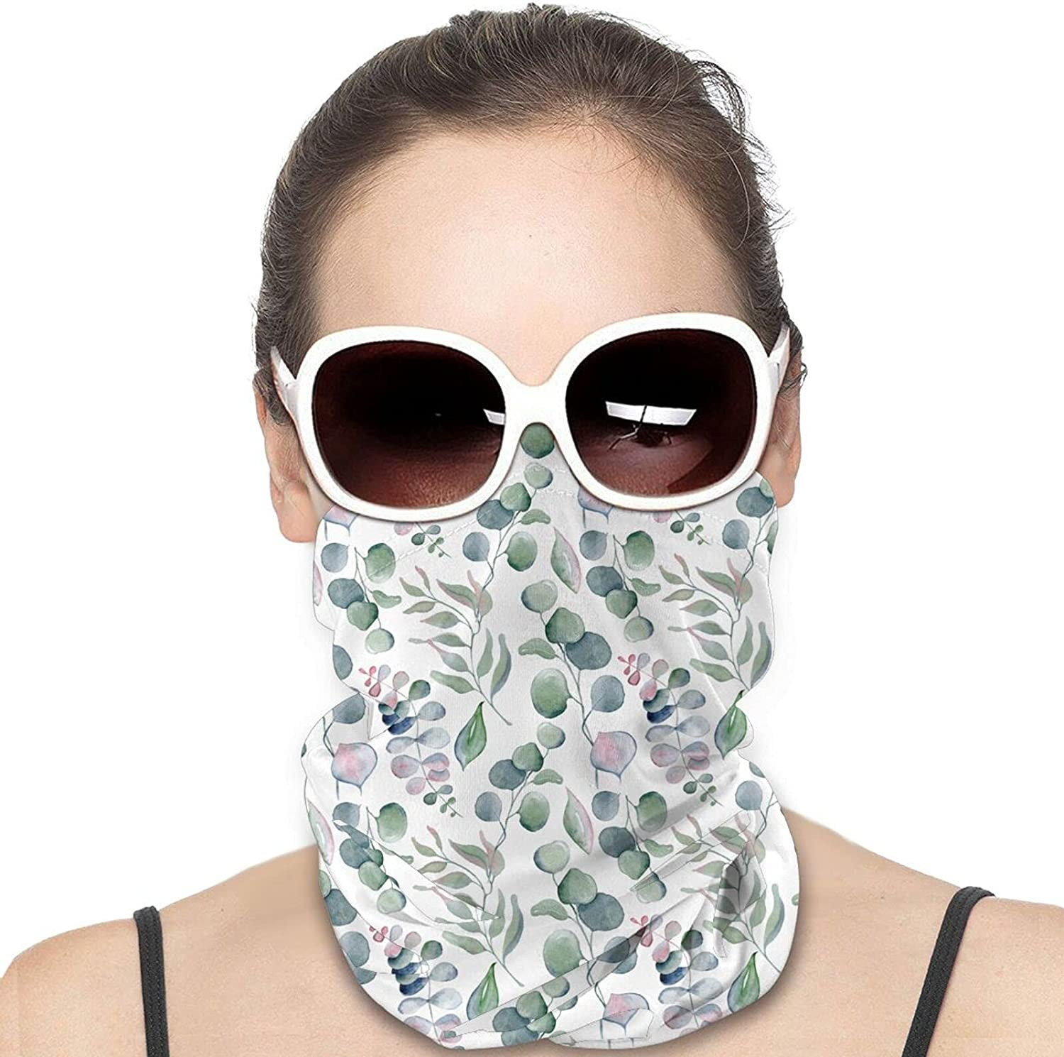 Paintings Of Flowers Round Neck Gaiter Bandnas Face Cover Uv Protection Prevent bask in Ice Scarf Headbands Perfect for Motorcycle Cycling Running Festival Raves Outdoors