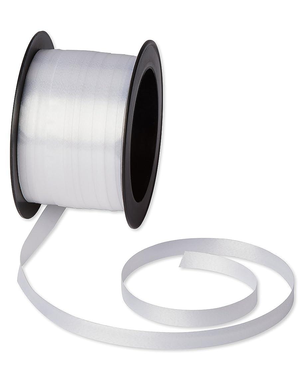 American Greetings White Curling Ribbon, 55 ft.
