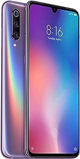 Xiaomi Mi 9 Xiaomi Mi 9 Dual SIM - 128GB, 6GB RAM, 4G LTE, Violet – International Version - Violet (Pack of1)