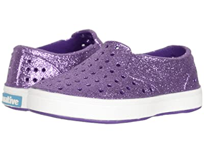 Native Kids Shoes Miles Bling (Toddler/Little Kid) (Starfish Bling/Shell White) Girls Shoes