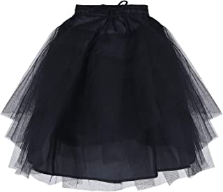 iiniim Girls Puffy Net Crinoline Slip Petticoat Underskirt Wedding Flower Girl Tutu Dress