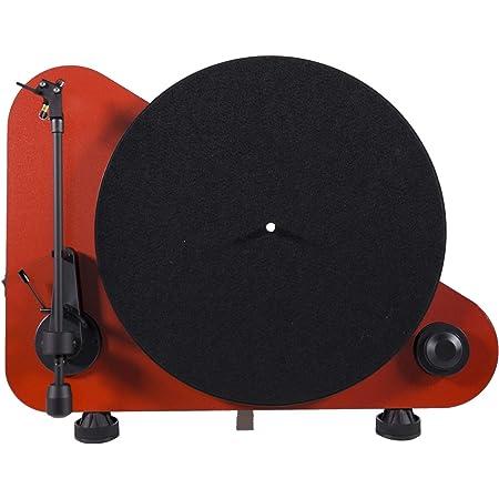 Pro Ject Vt E Bt Vertikaler Plug Play Plattenspieler Mit Bluetooth Rot Audio Hifi