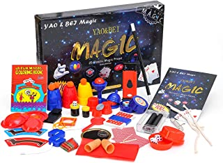 Magic Set Magic Kit For Kids Science Toys for Children Including 25 Classic Tricks Easy To Play Magic Best Gift For Boys Girls and Adult