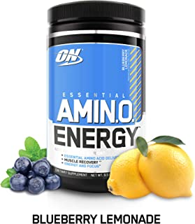 Optimum Nutrition Amino Energy with Green Tea and Green Coffee Extract, Flavor: Blueberry..
