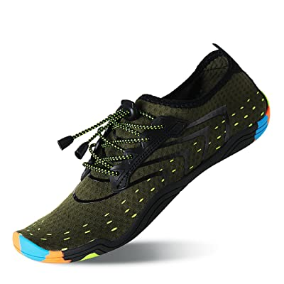 Lauwodun Womens and Mens Quick Dry Water Shoes ...