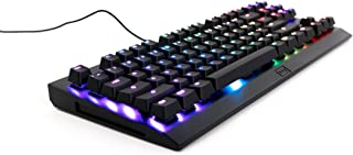 WOOTING ONE Linea‍‍‍r55 Red‍‍ Analog RGB TKL Mechanical Gaming Keyboard: Pressure Sensitive, Adjustable Actuation Point, RGB Backlight, On-Board Memory, No Tactile and Audible Feedback.
