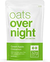 Oats Overnight - Green Apple Cinnamon - Premium High-Protein, Low-Sugar, Gluten-Free (3oz per pack) (24 Pack)