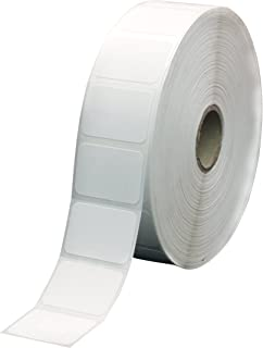 ChromaLabel 1-3/16 x 27/32 inch Direct Thermal Perforated Labels | 2,710/Roll