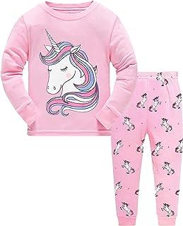 NAME IT Pyjama Schlafanzug dunkelrosa Glitter Cat Größe 86//92 bis 110//116