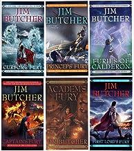 The Codex Alera Series 6 Books Collection Set By Jim Butcher (Furies Of Calderon, Academ's Fury, Cursor's Fury, Captain's ...