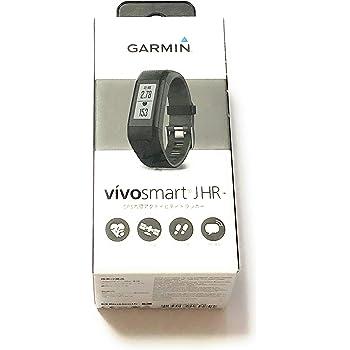 GARMIN(ガーミン) 活動量計 時計 vivosmartJ HR+ 光学式心拍計 歩数 カロリー計算 ランニング GPS 【日本正規品】