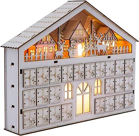LED Christmas Countdown Advent Calendar
