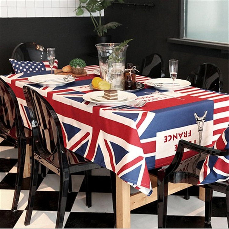 Personalisierte tischdecken Creative flag personalisierte tischdecken Home dekoration tischtuch Tisch couchtisch matte-A 120x120cm(47x47inch) B078GJR3FD Ich kann es nicht ablegen | Erschwinglich