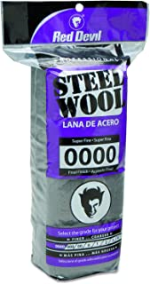 Red Devil 0310 Steel Wool, 0000 Super Fine, 16 Pads