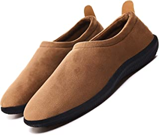 Mens Womens Slippers Original Elasticity Super-Soft Microfiber Velvet House Shoes,Casual Loafers with Indoor Outdoor