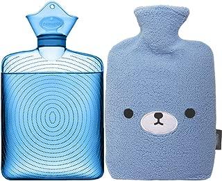 fleece hot water bottle cover