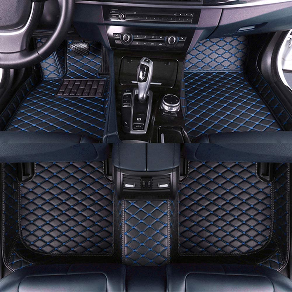 Jiahe El Alfombra Coche para Mercedes-Benz E-Class W212 2009-2016 Alfombra Personalizada Coche para Cuero Esteras Coche Antideslizantes Alfombrillas Moqueta Impermeables Set Beige