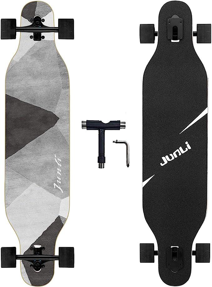 Junli 41 Inch Freeride Skateboard Longboard