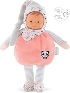 Corolle mon doudou Elf Happy Panda Toy Baby Doll, Pink