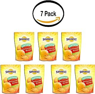 PACK OF 7 - Sunsweet Phillipine Grown Mango, 9 Oz