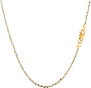 Best 2 tone gold chain Reviews