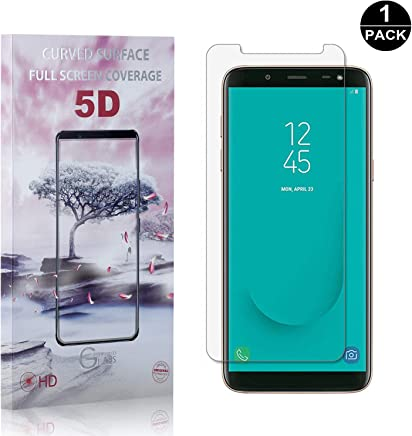 Galaxy A7 2018 Screen Protector Scratch Resistant HD Screen Protector Film for Samsung Galaxy A7 2018-1 Pack Bear Village Premium Tempered Glass Screen Protector
