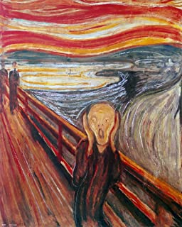 The Scream. Edward Munch. Art Print Poster (16X20)
