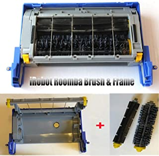 Main Brush + Frame Box for iRobot Roomba 500 600 700 Series Vacuum Cleaner Robot Spare Parts Accessories, Vacuum Cleaner Components Main Brush Frame Assembly