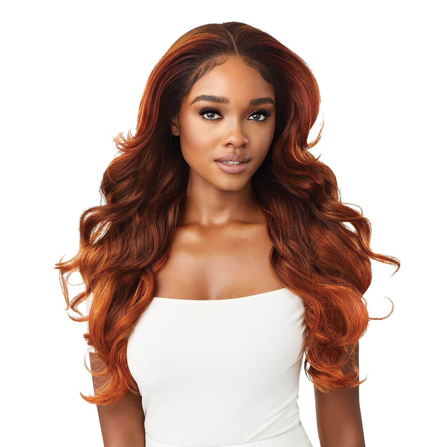 Branded goods Outre Perfect Hair Line Synthetic 13x4 trend rank Faux Wig Front Scalp Lace