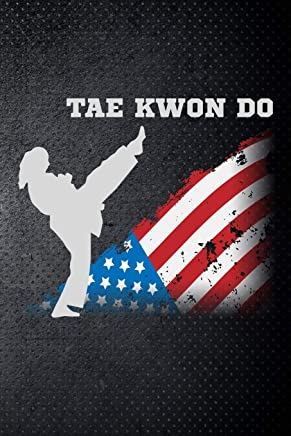 Tae Kwon Do: Taekwondo fan Martial Art Fan 6x9 Journal / Notebook 100 page lined paper