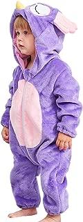 Infant Babys Soft Plush Romper Pajamas Cute Animal Cartoon Onesie Jumpsuit Cosplay Fancy Costumes