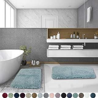 aqua bathroom mats