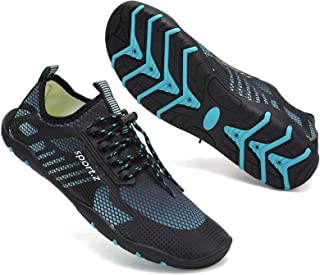Water Shoes Mens Womens Quick Dry Swimming Pool Barefoot Aqua Water Sports Surf Beach Boating Snorkeling Diving Lake Yoga ...