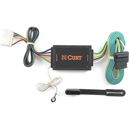 Amazon.com: CURT 56038 Vehicle-Side Custom 4-Pin Trailer Wiring Harness,  Fits Select Acura MDX: Automotive | Acura Mdx Trailer Wiring Diagram |  | Amazon