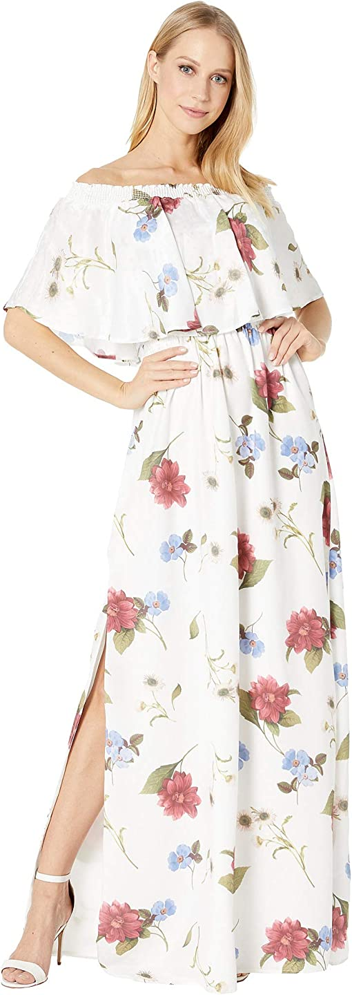 Florence Floral Silky Dots