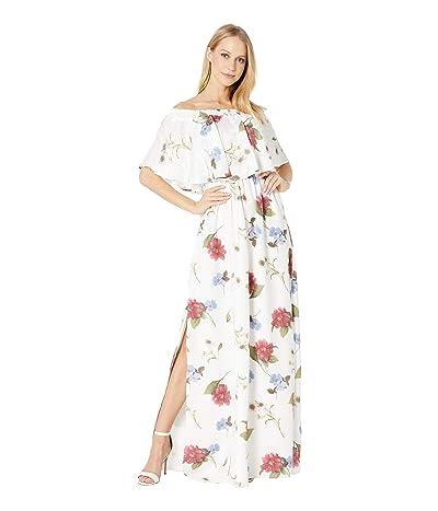 Show Me Your Mumu Hacienda Dress (Florence Floral Silky Dots) Women