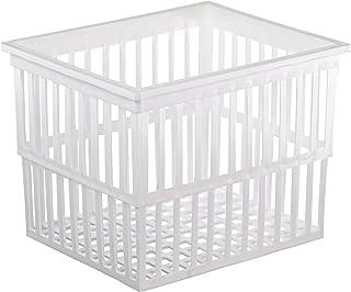 EISCO Polypropylene Test Tube Basket, 12 cm Length x 11 cm Width x 14 cm Height