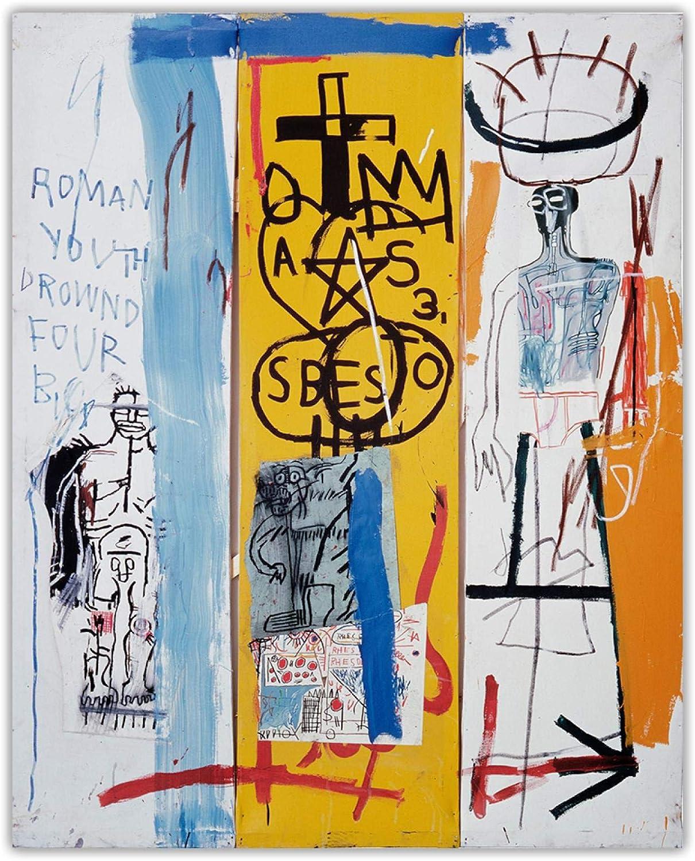 Citon Portland [Alternative dealer] Mall Jean Michel Basquiat《Four Art Canvas Big.1982》Graffiti
