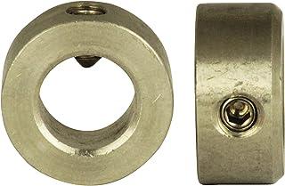 V2A Innen-/Ø = 8 mm DIN 914, mit Spitze - DIN 705 Form A mit Gewindestift - Edelstahl A2 2 St/ück A8 SC-Normteile - SC705 - Stellringe f/ür Welle // Achse