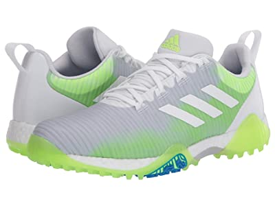 adidas Golf Codechaos (Footwear White/Core Black/Signal Green) Men