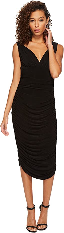 KAMALIKULTURE by Norma Kamali Tara Dress in Black