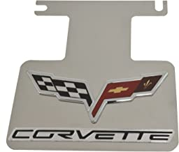 2005-2013 Corvette Exhaust Enhancer Plate Polished Stainless Steel