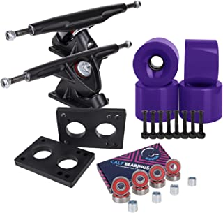 purple longboard trucks