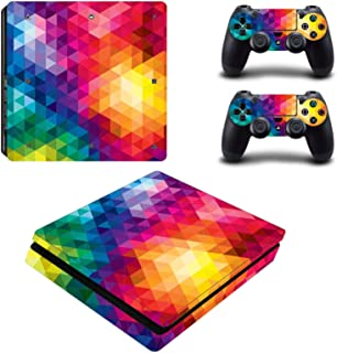 Toys BY060176 Fashion Sticker Icon Protective Film for PS4 Slim