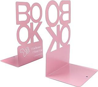 """Metallbokstöd kreativ """"bok"""" bokstav mönster bokstöd organiserare halkfri konst bokstativ för skrivbord kontor heminredning..."""