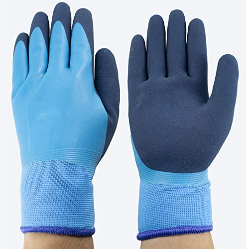 popular Waterproof Freezer Winter Work online sale Gloves Fleece-Lined with Tight Grip Frosted 2021 Palms Cold Temperature Work Gloves One Size for Most outlet online sale